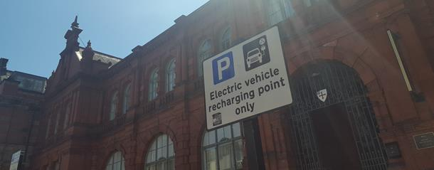 Car charging points in Durham