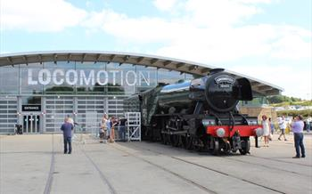 Flying Scotsman Shildon