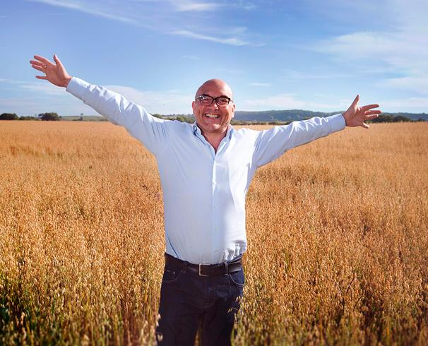 Gregg Wallace in Durham Dales