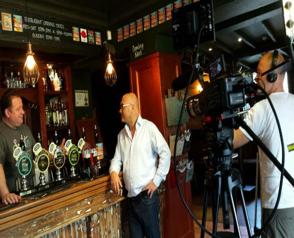TV's Gregg Wallace gets a real taste of Durham