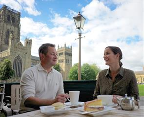 Tea room and coffee shops in Durham