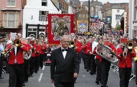 Durham Miners Gala 2011 copyright Tony Griffiths
