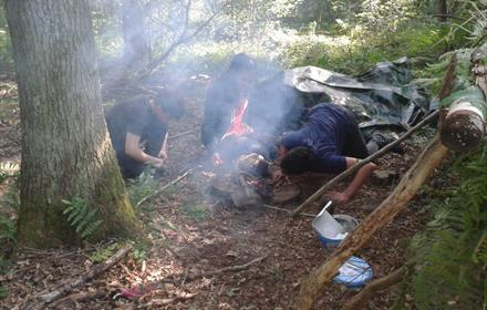 Wilderness Survival Challenge for 8 to 13 yrs