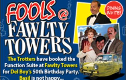 Fools @ Fawlty Towers Durham 03/04/2020