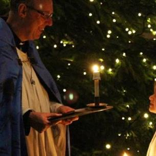 Durham Cathedral: Special Service - Lighting of the Christmas Tree and Blessing of the Crib