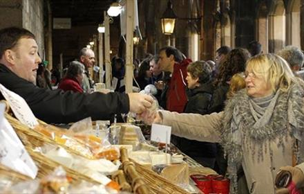 Durham Cathedral: Local Producer's Market