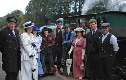 An Edwardian Easter at Tanfield Railway