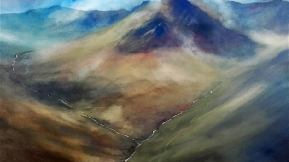 Watercolour painting with Chris Mouncey