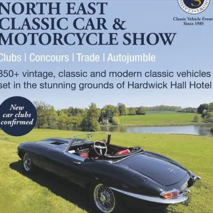 Hardwick Hall: North East Classic Car & Motorcycle Show