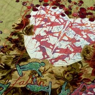 Maps and Mayhem, a textile masterclass