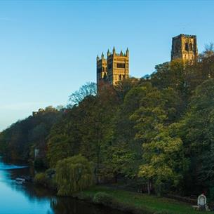 Durham Cathedral Riverbanks