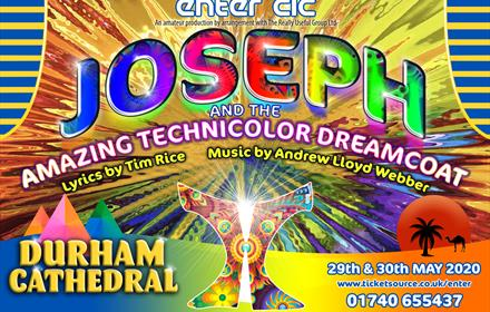 Joseph and the Amazing Technicolor Dreamcoat at Durham Cathedral