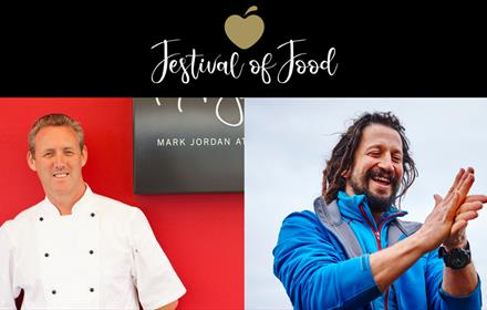 Festival of Food - Guest Chef Mark Jordan and forager Kazz in the Orangery