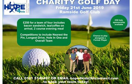 charity golf day ramside durham
