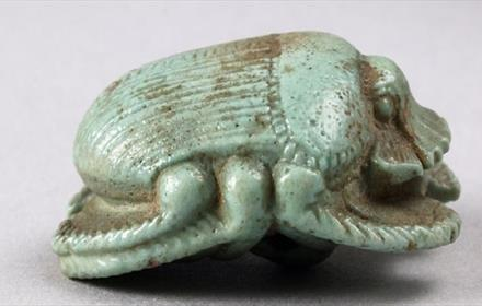 Oriental Museum: Scary Scarabs