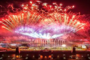 Kynren Fireworks Display