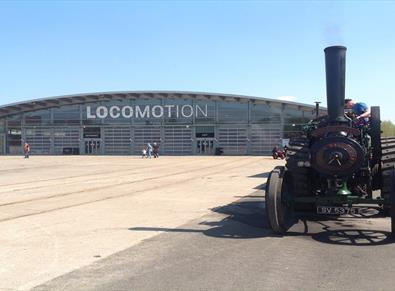 Locomotion Steam Traction Engine