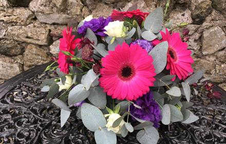 Seasonal Monthly Floral Workshop: Lanchester Garden Centre