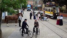 The 1900s Town Street at Beamish Museum