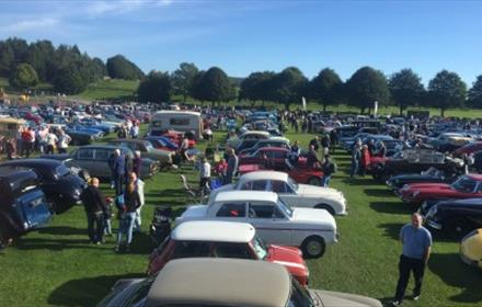 Beamish Museum - Classic Car Day