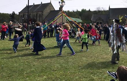 Beamish Museum - May Day Celebrations