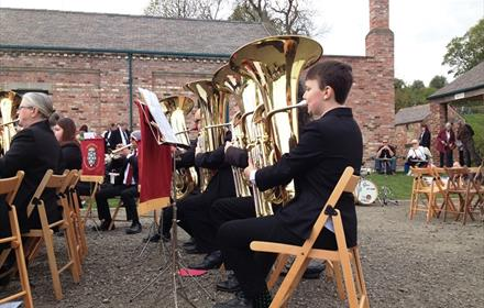 Brass at Beamish