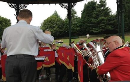 Beamish Museum: Hurworth Concert Band
