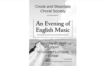 Ushaw: Crook and Weardale Choral Society: An Evening of English Music