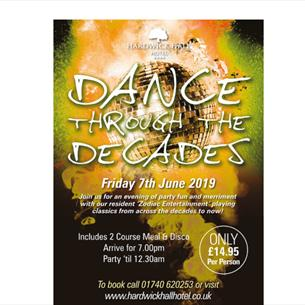 Hardwick Hall: Dance Through the Decades Disco