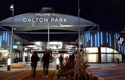 Main entrance dalton park
