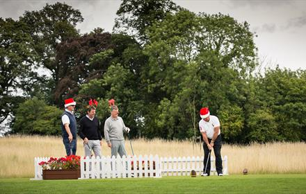 Christmas Four Ball Team Competition