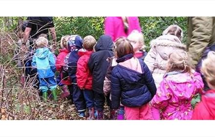 Under 5's Forest School at Durham Cathedral