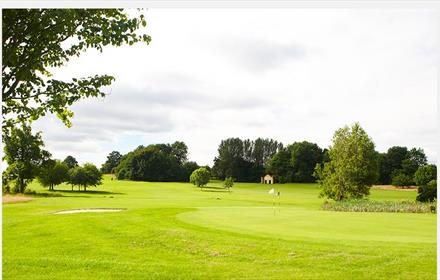 Golf Course at Hall Garth Hotel Durham