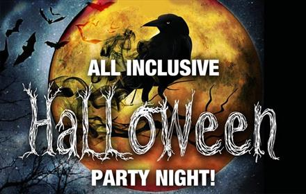 Hardwick Hall Hotel: All Inclusive Halloween Party Night!