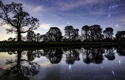 Raby Castle: Late Night Milky Way Photography