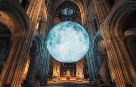 Durham Cathedral - Cathedrals at Night: Museum of the Moon - TO BE RESCHEDULED TO 2021 – Dates to be announced soon