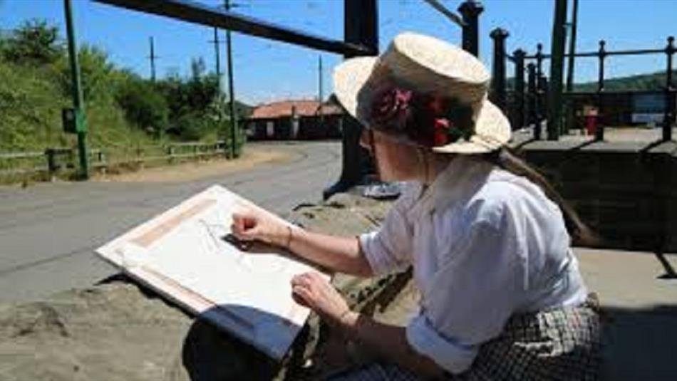 Beamish Museum - Observe and Draw Experience