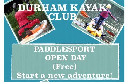 Durham Kayak Club: Paddle Sport Open Day