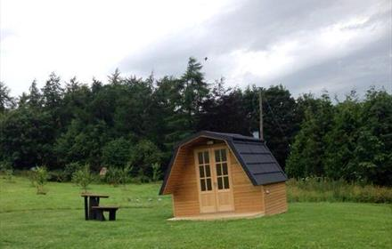 Finchale Abbey Camping Pods