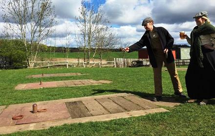 Beamish Museum - Quoits Weekend