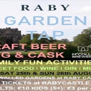 Raby Castle: Garden Tap - August Bank Holiday