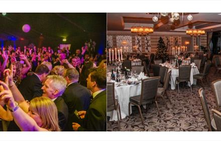 Clubhouse Christmas Party Night: Rockliffe Hall