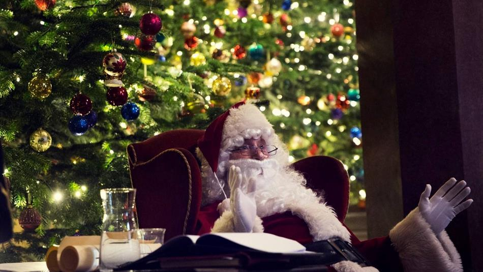 Raby Castle: Meet Father Christmas