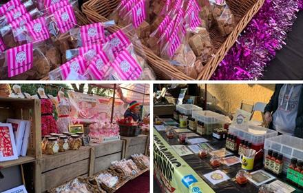 seasonal market raby castle county durham