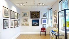 Spennymoor Town Hall Bob Abley Art Gallery