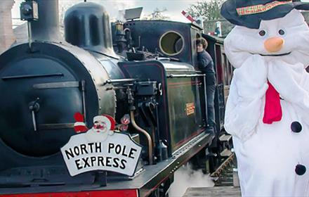 Tanfield Railway - North Pole Express