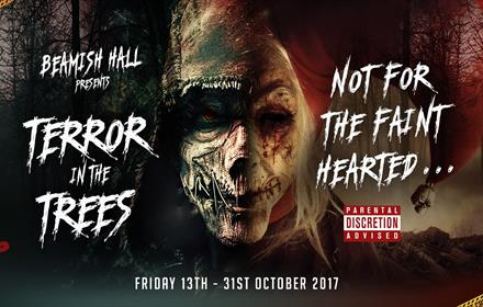 Beamish Hall Hotel: Terror in the Trees at Beamish Wild