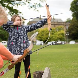 Archery at Beamish Wild